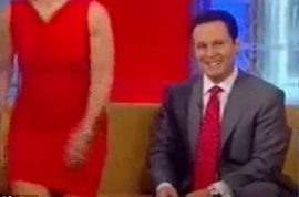 Gretchen Carlson walks off Fox set after co host Brian Kilmeade makes sexist comments.