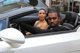 Oh my! Kim Kardashian splashes $380 000 for a new Lamborghini for Kanye West.