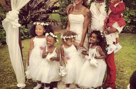 Bobby Brown gets married but daughter Bobbi Kristina snubs wedding.