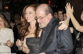 Salman Rushdie turns 65: Will always enjoy the thrill of a woman's scent against his loins.