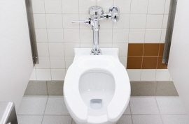 Walmart shopper freed after super glued to toilet seat.