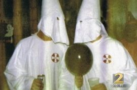 Georgia Sheriff up for re elections suddenly has photos of him in KKK costume leaked.