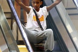 Willow Smith: Attention starved celebrity child now dancing on an escalator