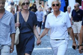 Oh my! Ellen Degeneres and Portia De Rossi go on romantic Italian holiday.