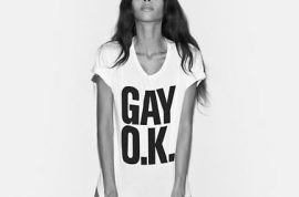 American Apparel uses transgender model for its latest campaign.