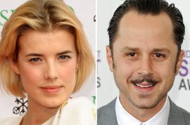 Giovanni Ribisi and Agyness Deyn slyly elope after having only just met.