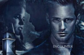 Alexander Skarsgård and Lara Stone star in latest Calvin Klein fragrance ad 'Encounter.'