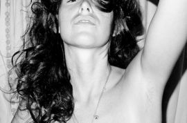 Graphic: Paz de la Huerta goes naked for Terry Richardson. Spreads those cheeks…