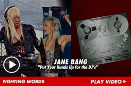 My hero DJ Jane Bang slaps Paris Hilton the fake that she is.