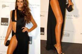 Isabel Goulart's legs are desperately crying out for your attention.