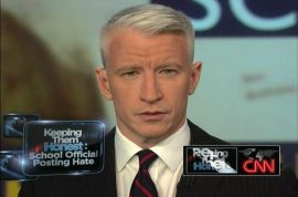 Anderson Cooper publicly comes out and admits he's gay. Still my heart throb…