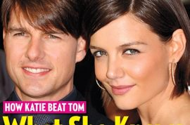 Oh my! Did Katie Holmes consult Tom Cruise's ex wife, Nicole Kidman about her get away?