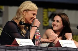Charlize Theron is furious with Kristen Stewart for having an affair with Rupert Sanders. Or is she?