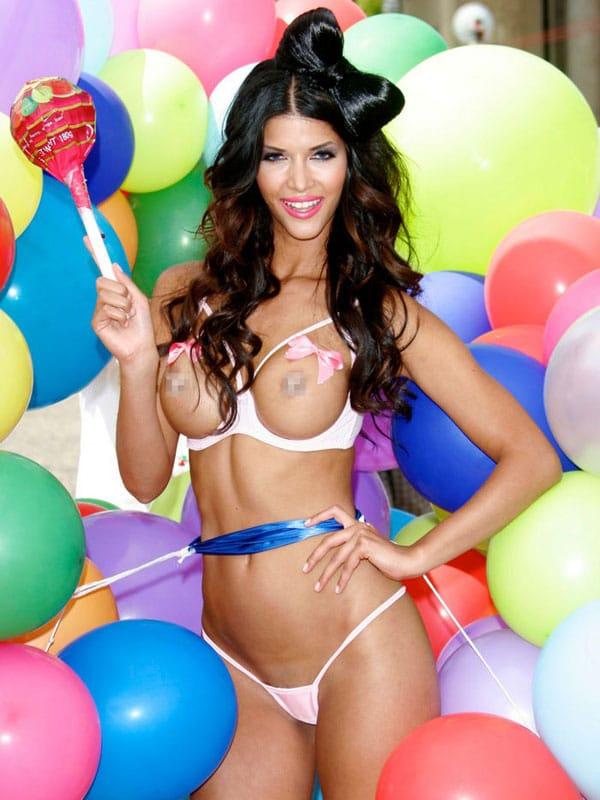 Micaela Schaefer topless calendar spread