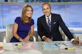 Ann Curry's replacement Savannah Guthrie waxes girlish charm with giggly Matt Lauer
