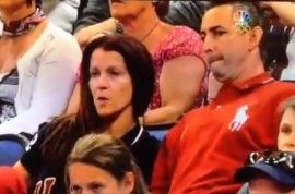 Video: Aly Raisman's Parents In Hilariously Awkward Moment At London 2012 Olympics