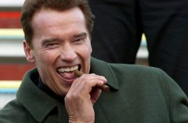 Does Arnold Schwarzenegger have a new girlfriend?