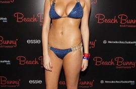 """Kate Upton slams detractors for calling her fat. """"I'll eat when I want to!'"""