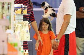 'Damn it mommy!' Suri Cruise has massive fit after Katie Holmes refuses to buy Suri pet dog….