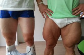German Olympic cyclists tweet freakish pictures of their thighs. So that's why they win….