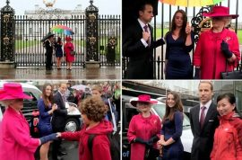 Oh my! Duchess of Cambridge is now a gold digger says Chinese panda cab commercial.