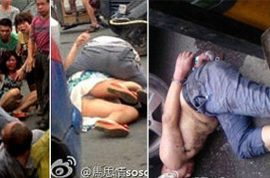 Video: Chinese zombie attack involves drunk bus driver chewing woman's face off.