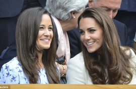 Kate Middleton and Pippa Middleton star at Wimbledon Final as they cheer Andy Murray.