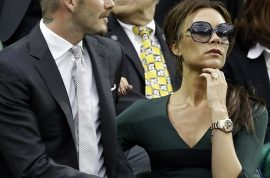 Victoria Beckham wasn't particularly impressed by the Wimbledon tennis thank you very much!