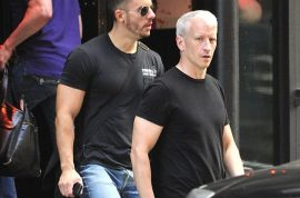 Oh dear! My hero Anderson Cooper is now marrying his boyfriend.
