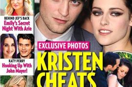 Did Kristen Stewart cheat on boyfriend Robert Pattinson with married director Rupert Sanders?