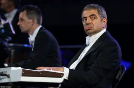 Rowan Atkinson is shear brilliance as Mr Bean at London Olympic Games opening ceremony.