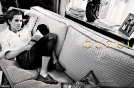 Monaco's Princess Charlotte Casiraghi shows off in new Gucci campaign.