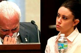Casey Anthony's father didn't deny accusations he fathered Caylee.