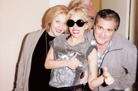 Lady Gaga's parents open up fabulous Italian restaurant. Not trendy but Lady Gaga goes there anyway…