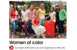 Utah Valley Magazine celebrates its women of color with no colored women.