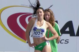 Video: Australia's Michelle Jenneke is the internet's new super hot slinky sexy hurdler du jour.