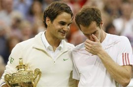 Video: Disbelief as Roger Federer beats shattered Andy Murray to win 7th Wimbledon title.