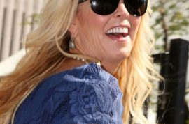 Oh dear! Dina Lohan and brother Paul skip out on charity dinner bill.