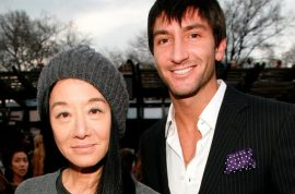 Vera Wang and Evan Lysacke rumored to now be living together. Sporting flashy Rolex…