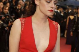 Kristen Stewart emerges as Trampire. Now receiving images of herself with her eyes burnt out.