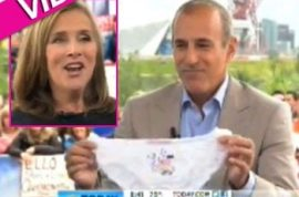 Matt Lauer calls Meredith Vieira an 'Indian giver.'