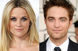 Robert Pattinson takes refuge at Reese Witherspoon's house. Has begun talks with Kristin Stewart.