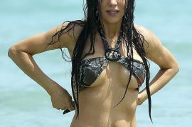 Oh my! Real Housewives of Miami star Adriana De Moura amazes in her itty bitty bikini….