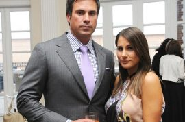 Former Elliot Spitzer call girl Ashley Dupre engaged to asphalt heir. Pregnant with first child.