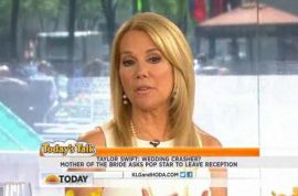 Taylor Swift was asked to leave crashed Kennedy wedding confirms Kathie Lee Gifford.