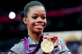 Gabby Douglas gold medal victory mired by NBC ad depicting a monkey doing gymnastics.
