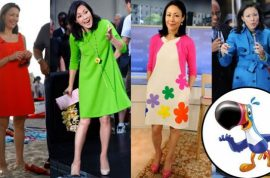 Ann Curry: Now reckons she was fired cause of her flat shoes, gray hair and too multi colored style.