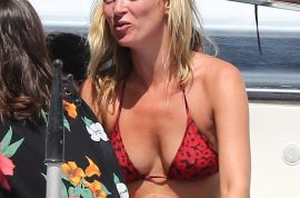 Please Kate Moss, if you can't take the heat get out of the sun!
