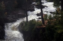 Bride in wedding dress plunges to her death whilst posing for pictures in front of waterfall. Trash the dress…