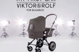 Viktor and Rolf would like you to buy their $1775 posh baby Bugaboo Stroller.